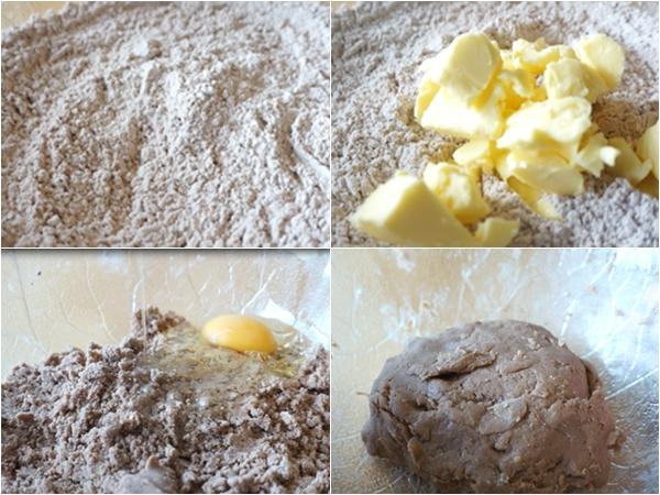 Nguyên liệu làm bánh tart chocolate dâu tây