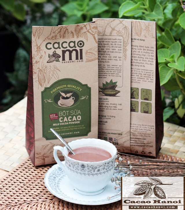 bột cacao sữa 3in1